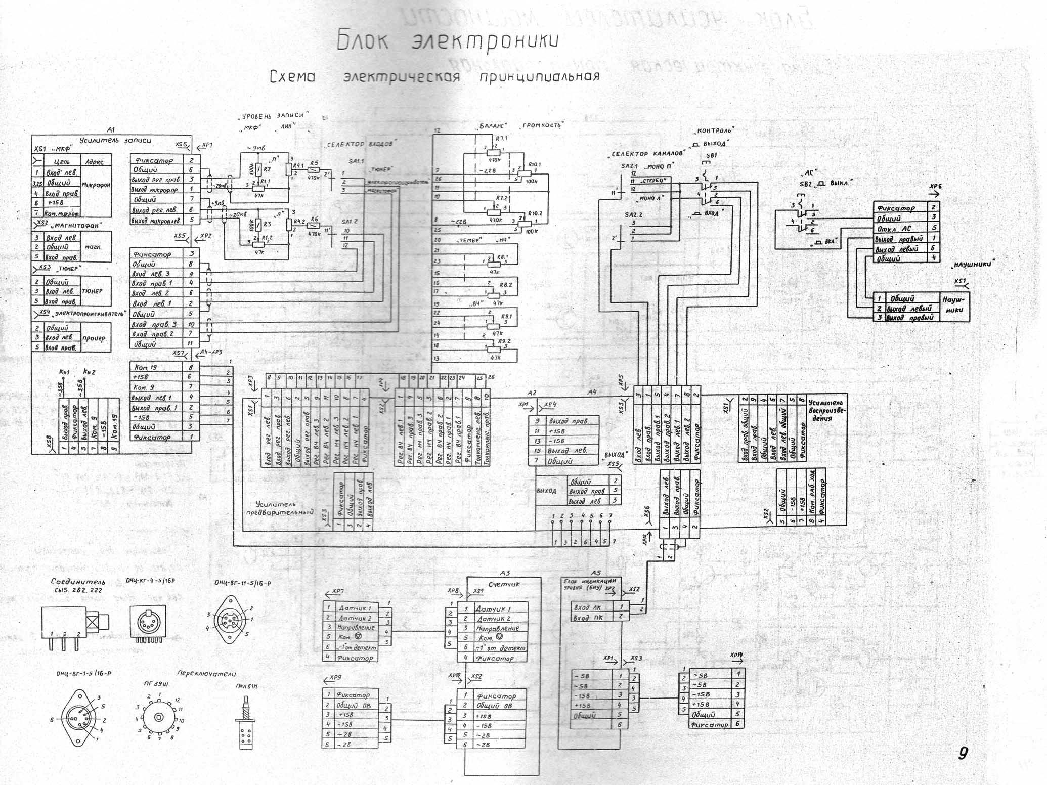 Схема электрическая функциональная и принципиальная схема